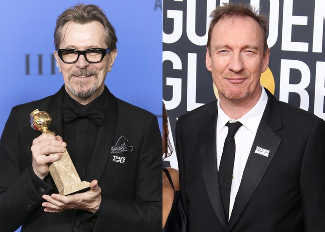 画像: ゲイリーは、ドラマ「ウィンストン・チャーチル/ヒトラーから世界を救った男」でドラマ部門の男優賞を受賞。デヴィッドは、ドラマ「FARGO/ファーゴ」でドラマ部門の助演男優賞にノミネートを果たした。