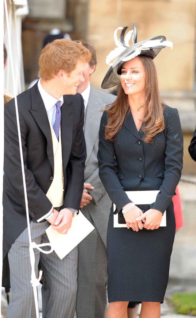 画像: 現在は義理の弟であるヘンリー王子と。