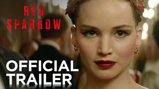 画像: Red Sparrow | Official Trailer [HD] | 20th Century FOX www.youtube.com