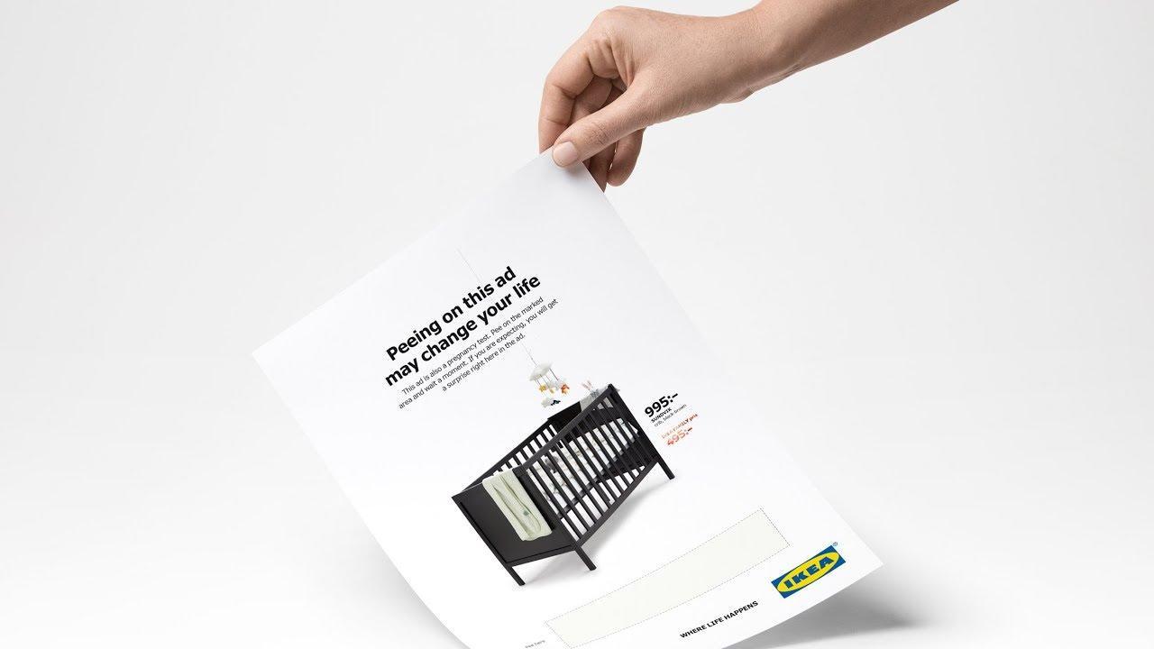 画像: Shoppers encouraged to urinate on IKEA's latest advert www.youtube.com