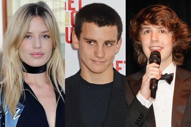 画像: 左から:ジェリーとの次女で人気モデルのジョージア・メイ(24)、次男のガブリエル(18)、ジェリーとの結婚中にミックが浮気した愛人のブラジル人女性との間に生まれたルーカス(17)。
