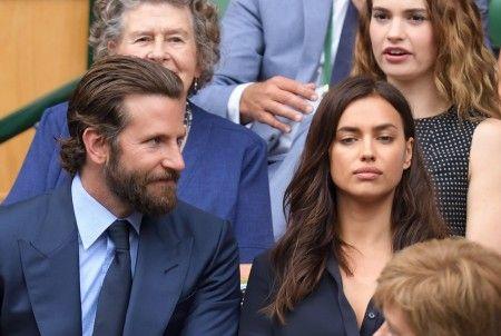 画像: ブラッドリーと視線を合わせようとしないイリーナ。