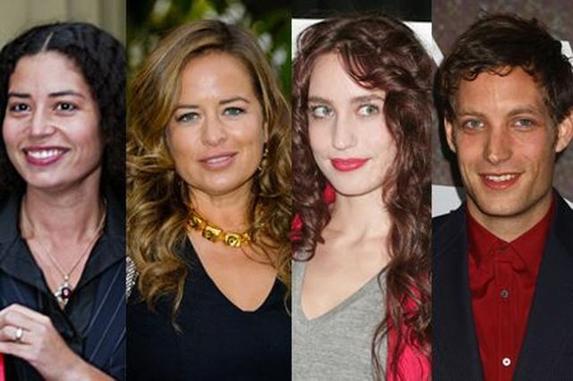 画像: 左から:アメリカ人歌手マーシャ・ハントとの間に生まれた長女カリス(45)、最初の妻ビアンカ・ジャガーとの長女ジェイド(44)、アメリカ人モデルのジェリー・ホールとの長女で女優として活躍するエリザベス(32)、長男で俳優のジェイムス(30)。