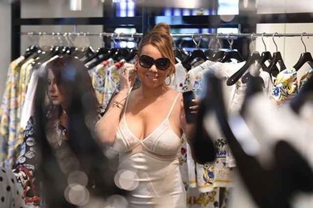 画像3: 【写真アリ】資産500億円超の歌姫マライア、深夜にドルチェ&ガッバーナを貸し切りでお買い物
