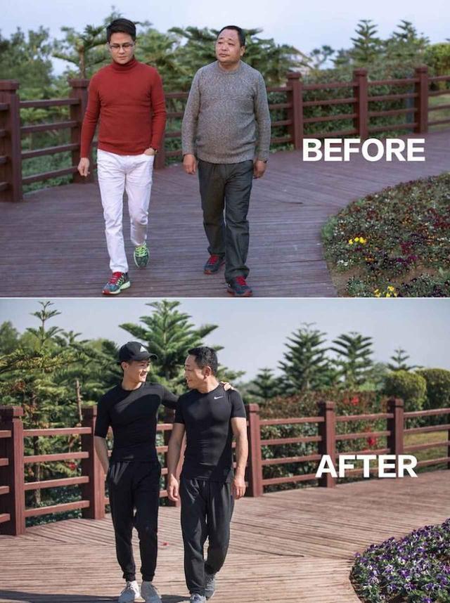 画像2: ある一家が6ヵ月本気でダイエットをしたらこうなった