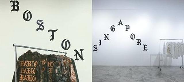画像: 左からボストン店、シンガポール店の内装の一部。