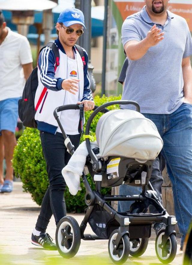 画像: ベビーカーを押してフレディ君とLAの自宅付近を散歩する姿がよく見かけられるなど、育メンとしてルイなりに奮闘しているようす。
