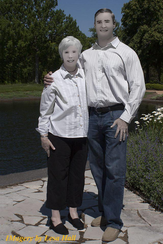 画像4: 家族写真のはずがホラー写真に
