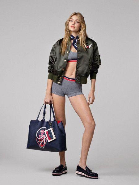 画像: トレンドのボンバージャケットとビッグサイズバッグが可愛い。