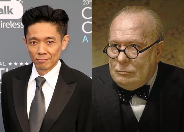 画像: 過去に「マッド・ファット・ワイフ」(07)と「もしも昨日が選べたら」(06)の2作品で、アカデミー賞のメイクアップ賞にノミネートしている辻氏。今回3度目のノミネートで初受賞を狙う。右は同作で主演男優賞にノミネートしたゲイリー・オールドマンのメイク後の姿。