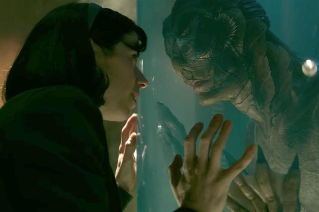 画像: 声を発することができない40代の女性が研究所の水槽内に隔離された不思議な生き物と心を通わせていくファンタジー・ロマンス作。