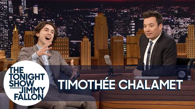 画像: Timothée Chalamet Meeting Angelina Jolie & Jennifer Aniston Back to Back Blew His Mind www.youtube.com