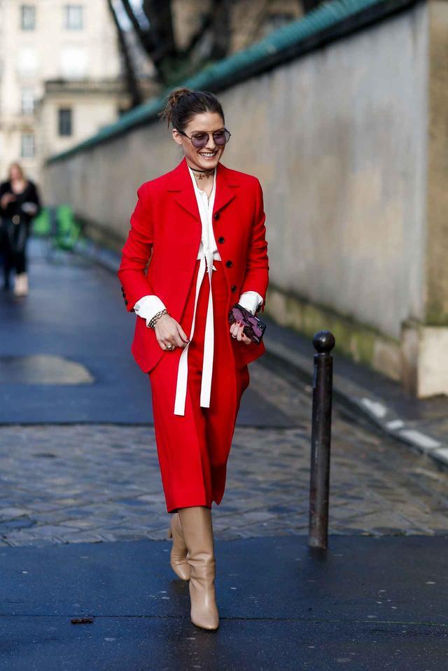 画像4: オリヴィア・パレルモのファッション・ウィークのおしゃれコーデを追っかけ!