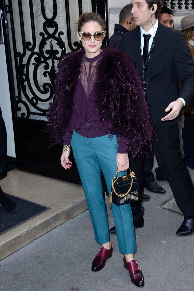 画像3: オリヴィア・パレルモのファッション・ウィークのおしゃれコーデを追っかけ!
