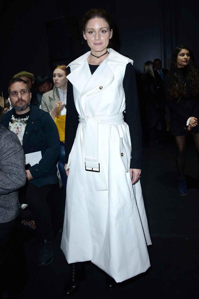 画像2: オリヴィア・パレルモのファッション・ウィークのおしゃれコーデを追っかけ!