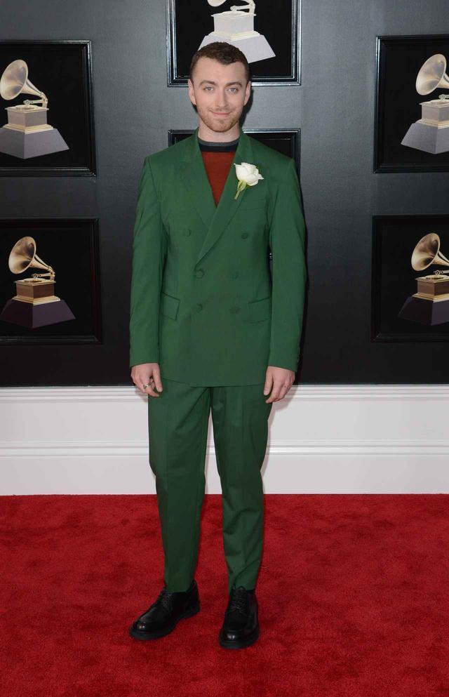 画像1: 華やかなスーツ姿!第60回グラミー賞、メンズのレッドカーペット速報