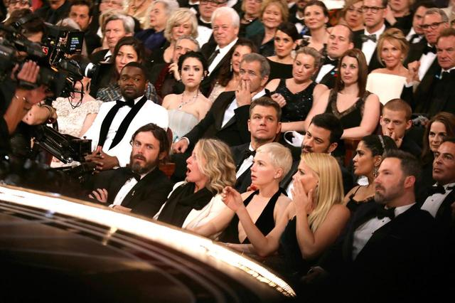 画像: 去年行われたアカデミー賞授賞式真っ只中の会場の様子。このなかにも席埋め係がいるかも?