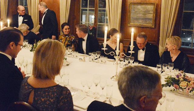 画像: キャサリン妃は出席者たちと和やかに会話を楽しんでいた。