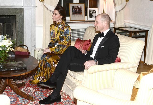 画像2: ルック3:イギリス大使宅での夕食会