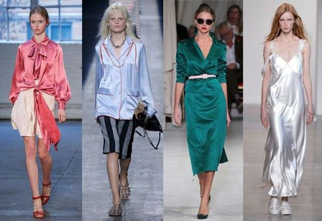 画像: 2016年の春夏コレクションのランウェイにも多数登場して以来、人気がうなぎ上り中。左から:Jill Stuart, Alexander Wang, Oscar de la Renta, Calvin Klein