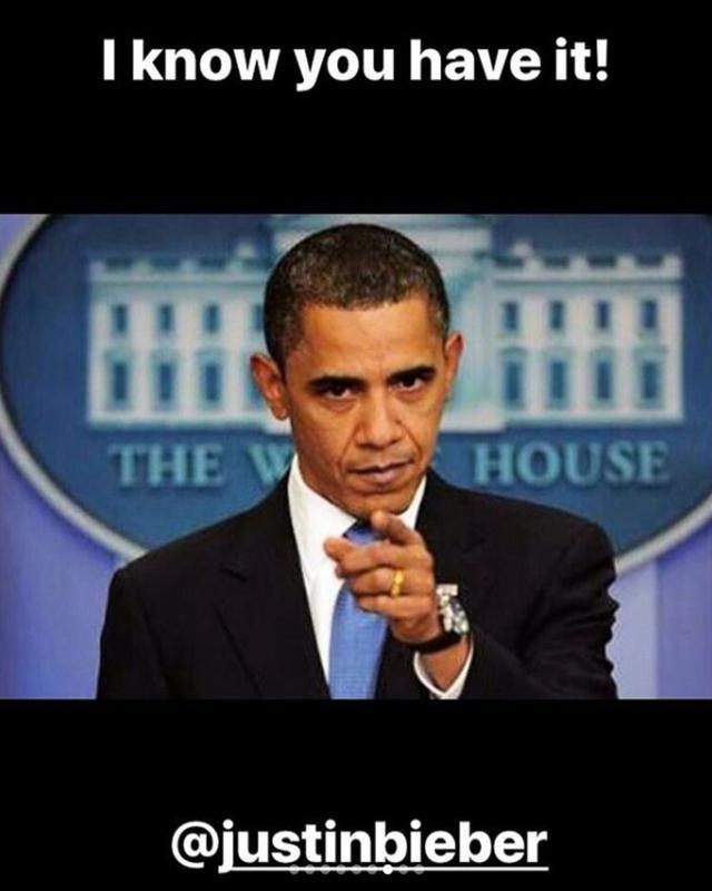 画像: バラク・オバマ元大統領の演説。