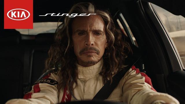 画像: 2018 Kia Stinger | Steven Tyler Big Game Ad – Feel something again www.youtube.com