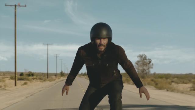画像: Super Bowl 2018 Commercial | Make It With Keanu Reeves www.youtube.com