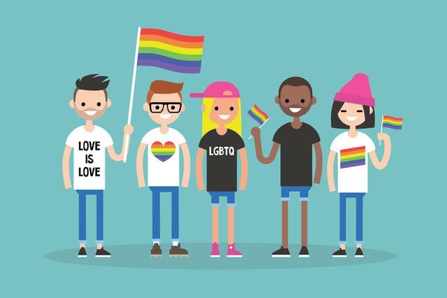 画像: ※ L=レズビアン、G=ゲイ、B=バイセクシャル、T=トランスジェンダー、Q=性的思考や性認識に疑問を持ち迷ったり悩んだりしている人、+=トランスセクシャル、アセクシャル、パンセクシャルほか、カテゴライズしきれない性の多様性を表す。
