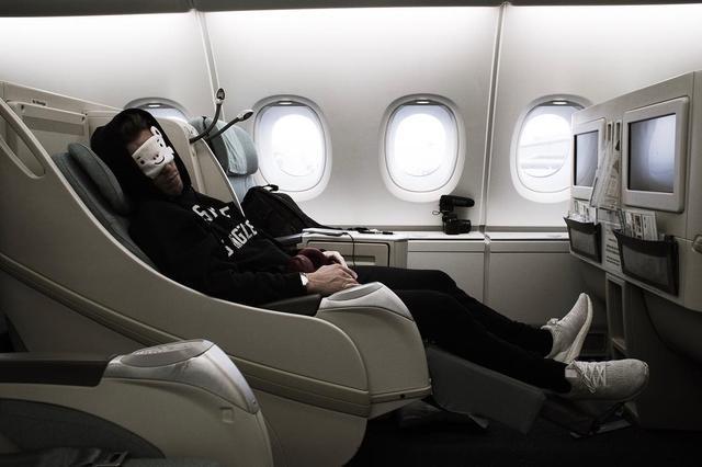 画像1: Shaun WhiteさんはInstagramを利用しています:「En route to PyeongChang #Olympics #Travel」 www.instagram.com