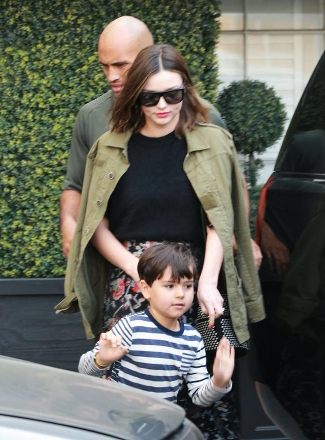 画像: 妊娠中のミランダ・カー、もうすぐお兄ちゃんになる長男の可愛すぎる言動明かす