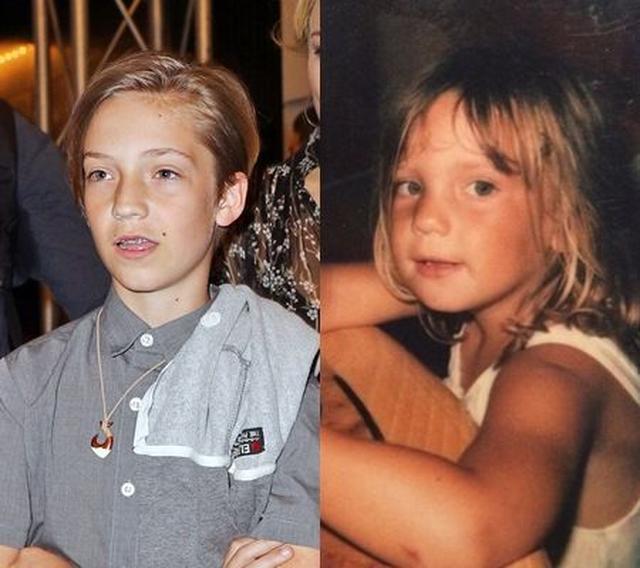 画像3: ケイト・ハドソンのおしゃれ息子がびっくりするほど母にそっくり!