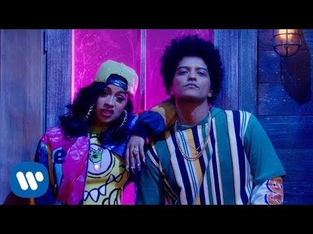 画像: Bruno Mars - Finesse (Remix) [Feat. Cardi B] [Official Video] - YouTube www.youtube.com