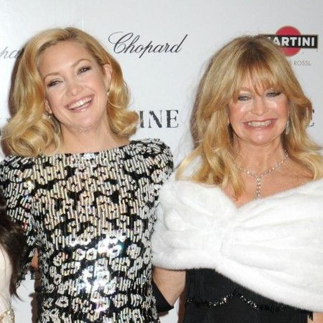 画像: ケイトと母である、女優のゴールディ・ホーン。