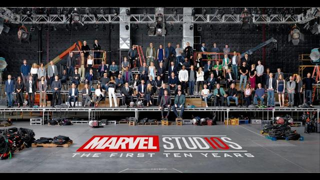 画像: Marvel Class Photo Celebrates 10 Years of the MCU www.youtube.com