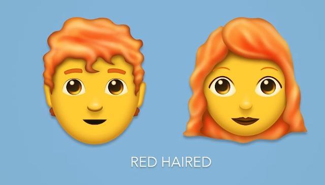 画像2: 今年は157種類もの「絵文字」が追加!毎日使える絵文字や待望の「赤毛」も…