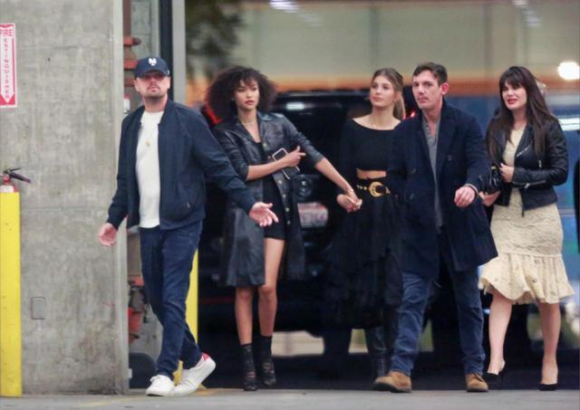 画像: 先日、モデルのカミーラとの熱愛が報道されたばかりレオナルド。