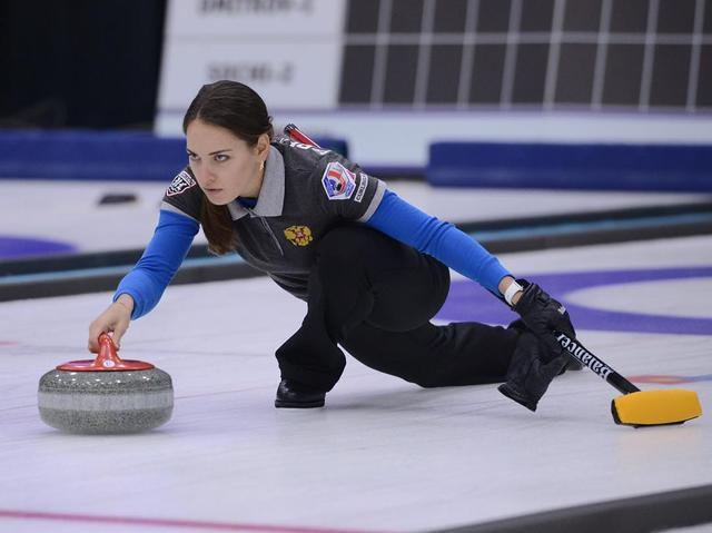 画像1: Anastasia BryzgalovaさんはInstagramを利用しています:「 #mixeddoubles #teamrussia #curling」 www.instagram.com