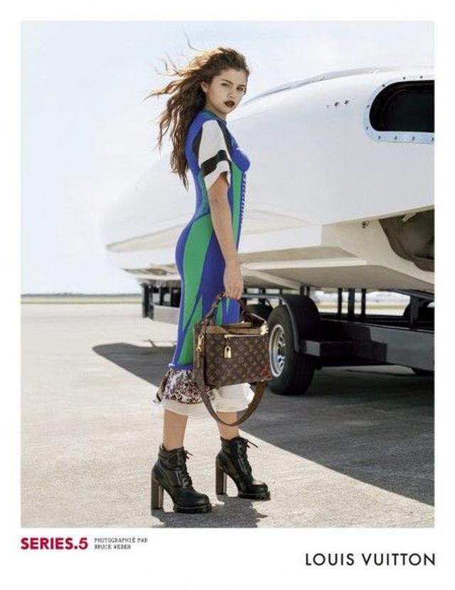 画像2: セレーナ・ゴメスが登場するルイ・ヴィトンの広告の全貌が明らかに