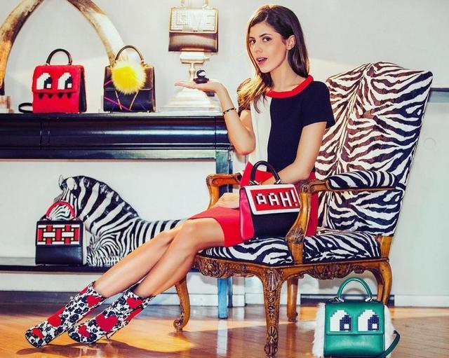 画像: デザイナーのマリアは頻繁にストリートスナップを飾るなど、ファッショニスタとしても注目を集めている。