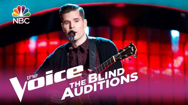 """画像: The Voice 2017 Blind Audition - Dave Crosby: """"I Will Follow You into the Dark"""" www.youtube.com"""