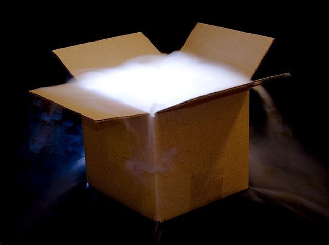 画像1: 箱を開けてビックリ!?