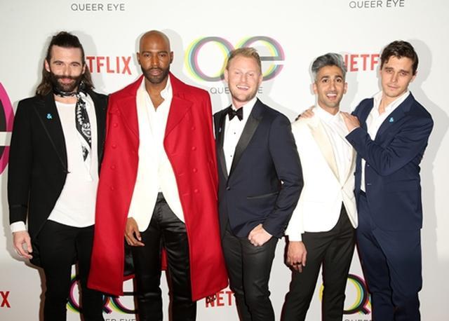 画像: 左からジョナサン・ヴァン・ネス、カラモ・ブラウン、ボビー・バーク、タン・フランス、アントニ・ポロウスキ