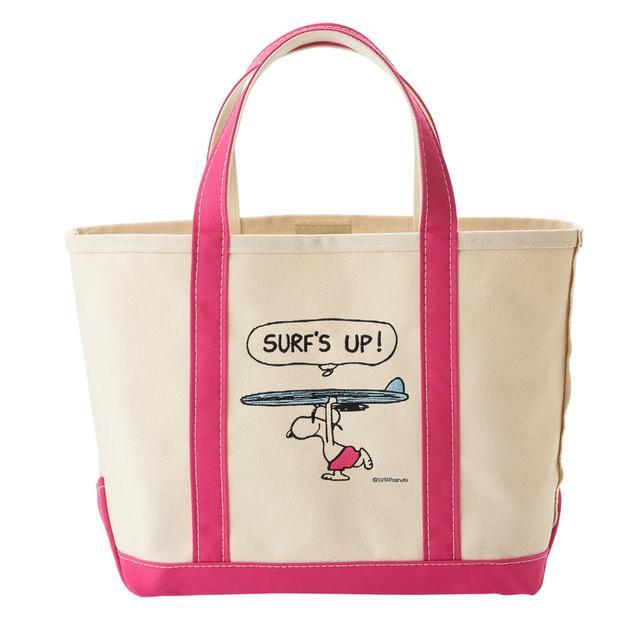 画像2: スヌーピーがサーフィン! L.L.Beanとの特別コラボ・トートが発売