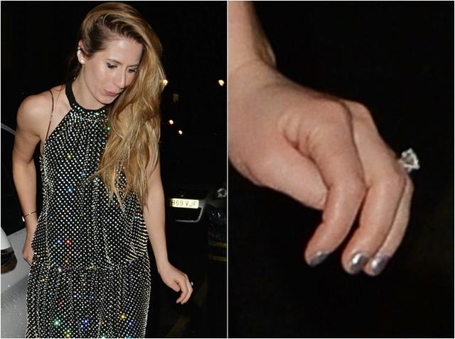 画像: ちなみにチェリーの左手薬指には巨大なダイヤモンドがついた婚約指輪が。