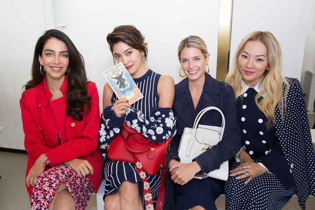 画像: 写真左よりジェシカ・カワウティ、森 星、ヘレナ・ボードン、ティナ・リュン。