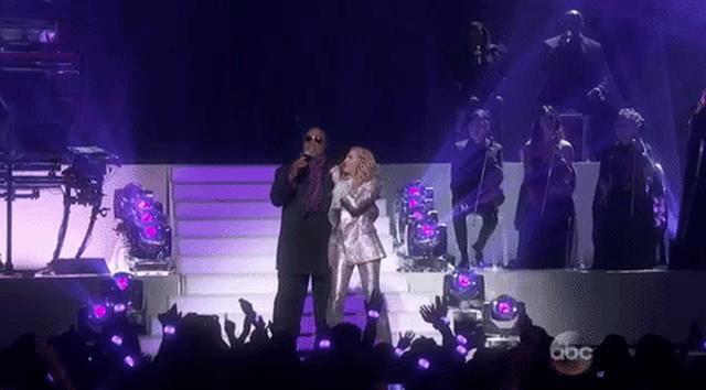 画像: Stevie Wonder Madonna GIF by Billboard Music Awards - Find & Share on GIPHY