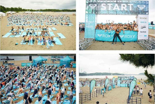 画像2: ROXY主催の女性限定ビーチフィットネスイベントが、横浜・沖縄で開催決定