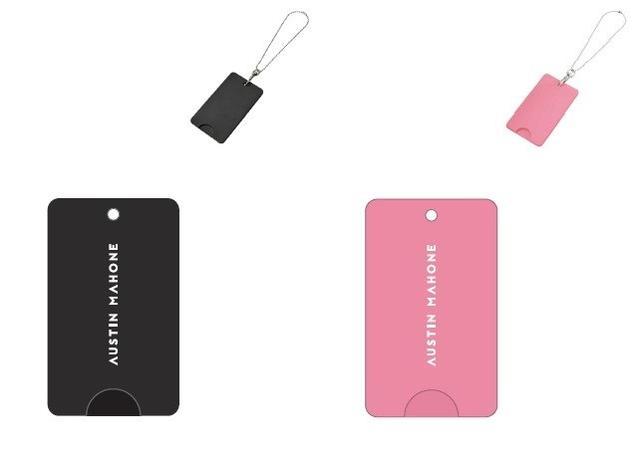 画像: 色はブラックとピンクの2種類。