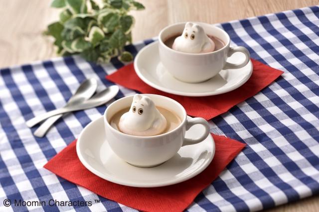 画像3: 「ムーミン」をモチーフにしたカフェが、ホワイトデーデザートを販売
