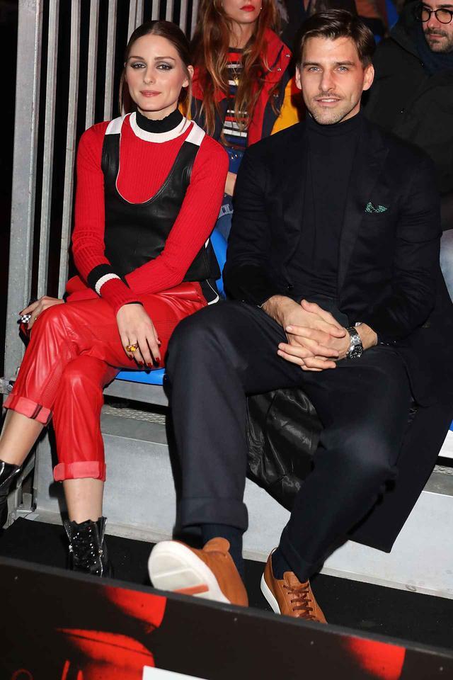 画像: 人気ファッショニスタのオリヴィア・パレルモと夫のヨハネス・ヒューブル。